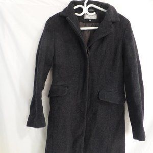 CHILL OUTWEAR, medium, charcoal grey coat, GUC